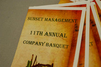 Sunset Management 11th Annual Banquet
